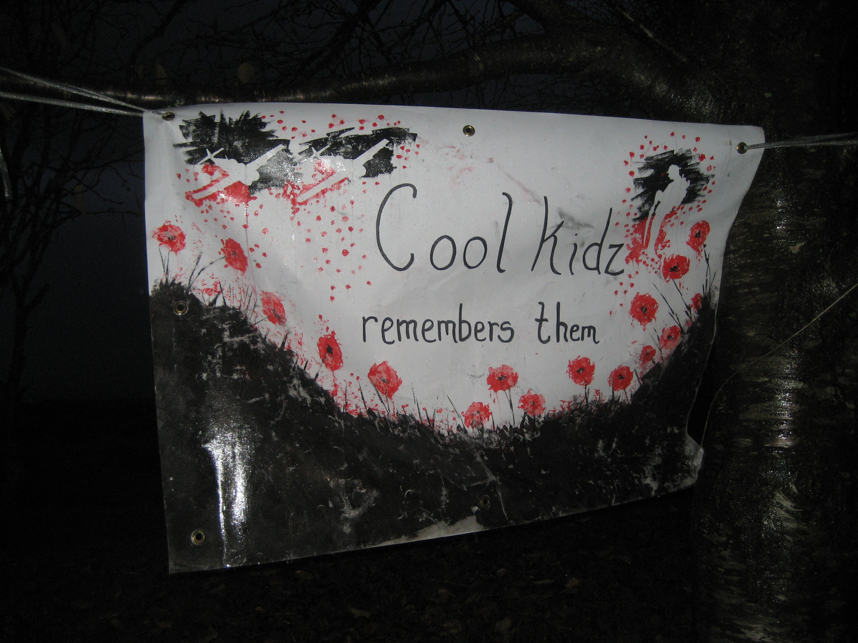 Rememberance day poster