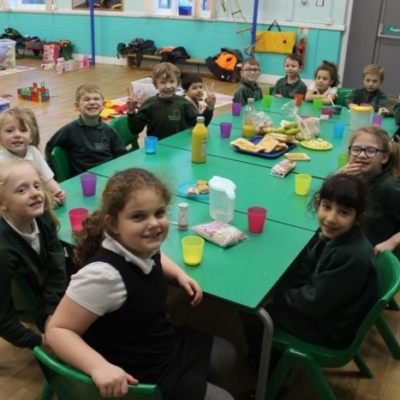 Group photo breakfast club