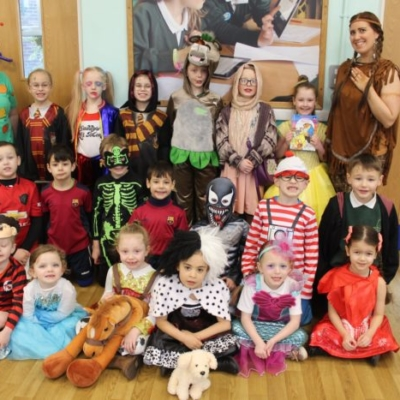 Facny dress world book day costumes