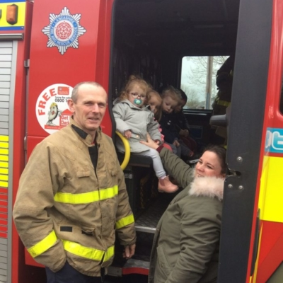 visit from fire man