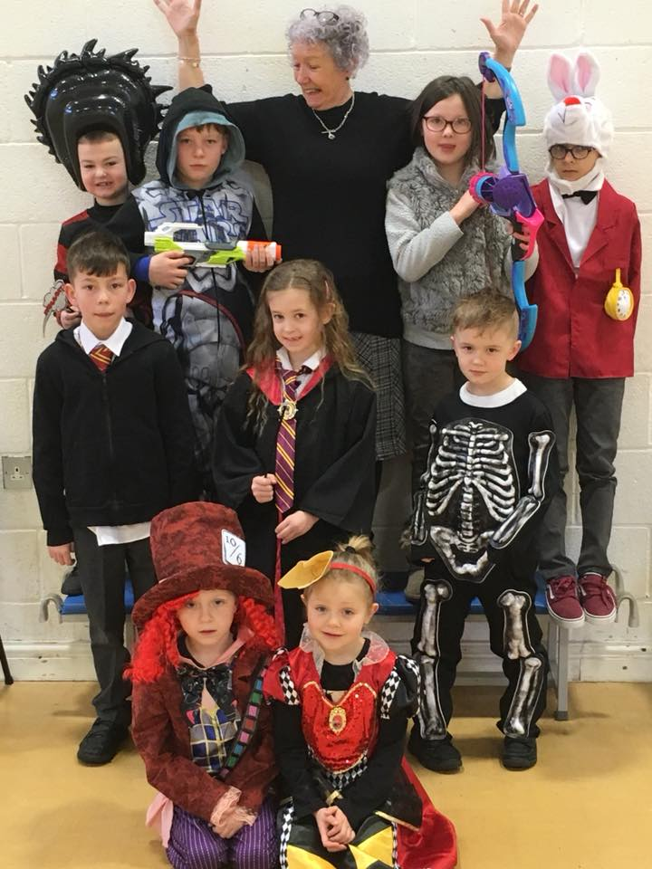 World Book Day fancy dress outifts
